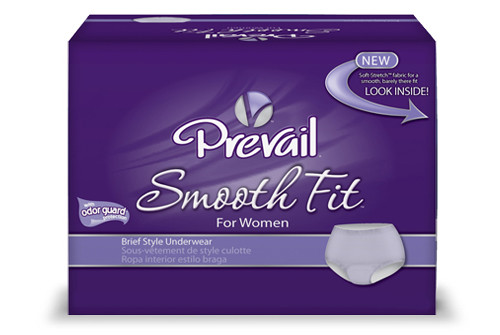 Prevail SmoothFit for Women Maximum Absorbency Underwear