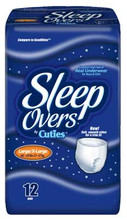 Sample of Prevail SleepOvers Overnight Protection Youth Underwear