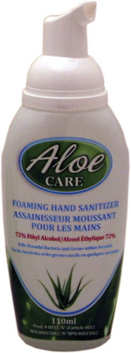 Aloe Care Foam Hand Sanitizer