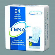 Sample of TENA New Day Light Pads
