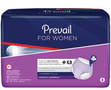 Sample of Prevail for Women Overnight Absorbency Underwear