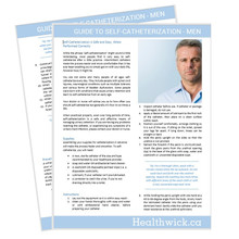 Healthwick Guide to Self Catheterization - Men  - Download