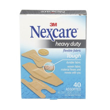 3M Nexcare™ Heavy Duty Fabric Bandages, Assorted Sizes