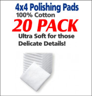 UltraLuster Polish Pads 4x4 pack of 20