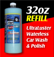 32oz UltraLuster Waterless Wash and Polish  REFILL