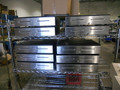 Lot of (10) Radiant CD00035 Cash Drawers w/stainless steel front