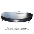 1830mm Vortex O2 Orbit Round Spa Cover (Slate)
