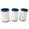 203 x 125mm Kit of 3 Camlock Filters For Vortex Spas