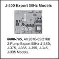 Jacuzzi® Control Circuit Board J-300™ 2-Pump