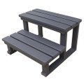Two Tier Spa Steps - Grey