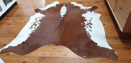 Brown  &  White  Cowhide #111