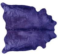 Lavendar Coloured Cowhide  Rug
