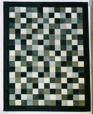 Grey Patchwork Rug