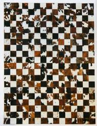 Tri  Colour  patchwork  Rug  2m x  1,5m