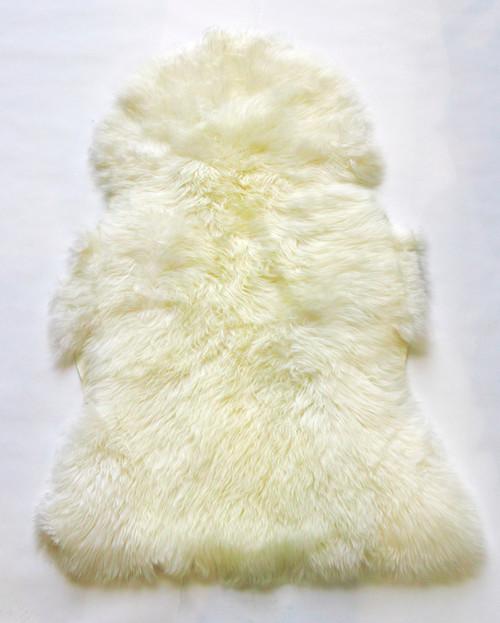 White  Merino Rug  110cm  x70cm  approximately