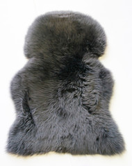 Mid  Grey  Merino Sheepskin  Rug 110xm x  70cm  approximately.