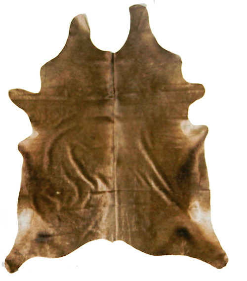 Mocha  Cowhide   2mx2m  approximately