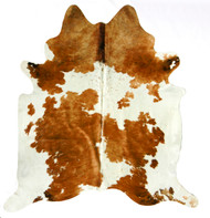 Hereford Spotty Cowhide 2mx2m approximately.