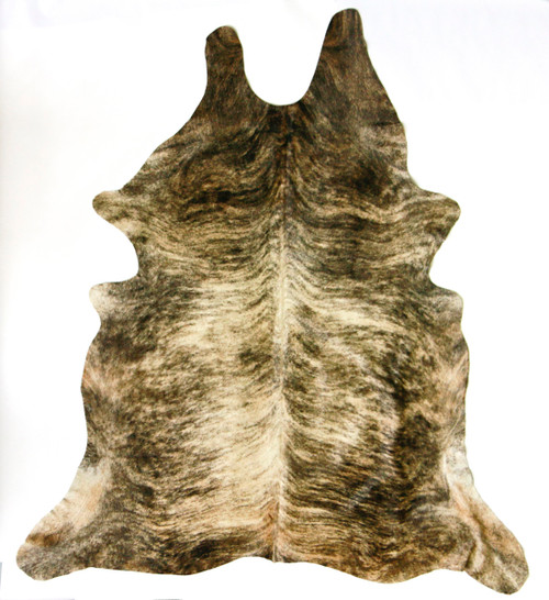 Brindle  Light  Cowhide  2mx2m  approximately.