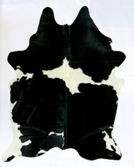 Black  &  White  Cowhide 2mx  2m more  black.