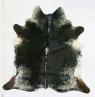 Cowhide  Rug Salt &  Pepper  Brown.Size  2mx  2m approximately.