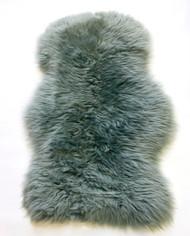 Blue  Grey  Merino Rug  100x70cm