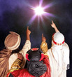 Star of Wonder - A HUGE Christmas Star Magically Appears - A magical moment for any Christmas Nativity, Service or Assembly