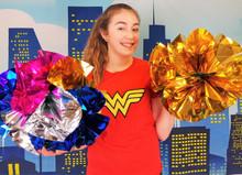 SuperSized Jumbo Appearing Mylar Spring Flowers Bouquet Magic Trick Gospel