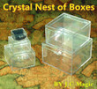Crystal Nesting Boxes