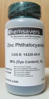 Zinc Phthalocyanine, 98% (Dye Content), Certified, 5g