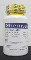 Silver Nitrate, ACS, 99.9+%, 25g