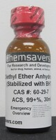 Diethyl Ether Anhydrous, ACS, 99+%, 30ml (for Photographic Applications)