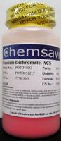 Potassium Dichromate, ACS, 99+%, 100g