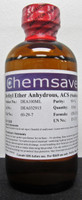 Diethyl Ether Anhydrous, ACS, 99+%, 100ml (for Photographic Applications)