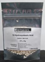 12-Hydroxystearic Acid, 97%, 25g