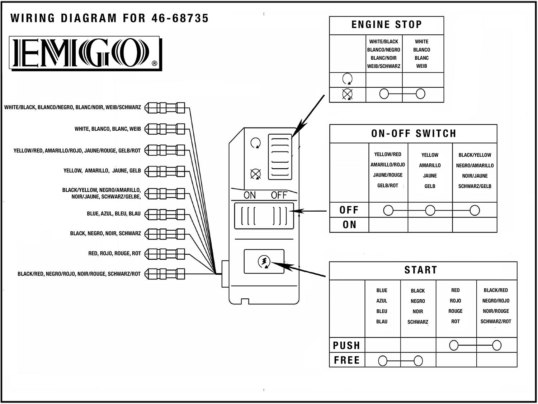 emgo universal handlebar multi switch right 46 68735 wiring rh 4into1 com Light Wiring Diagrams Multiple Lights Light Switch Wiring Diagram
