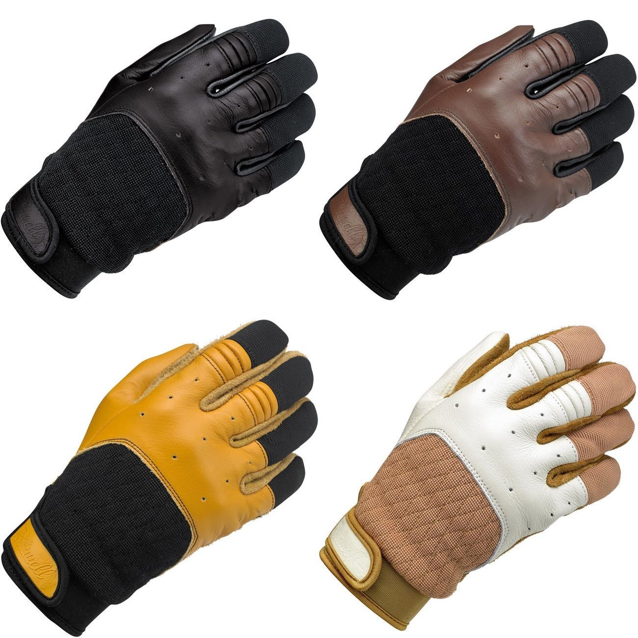 Buy leather motorcycle gloves - Biltwell Bantam Leather Vintage Motorcycle Gloves All Colors All Sizes