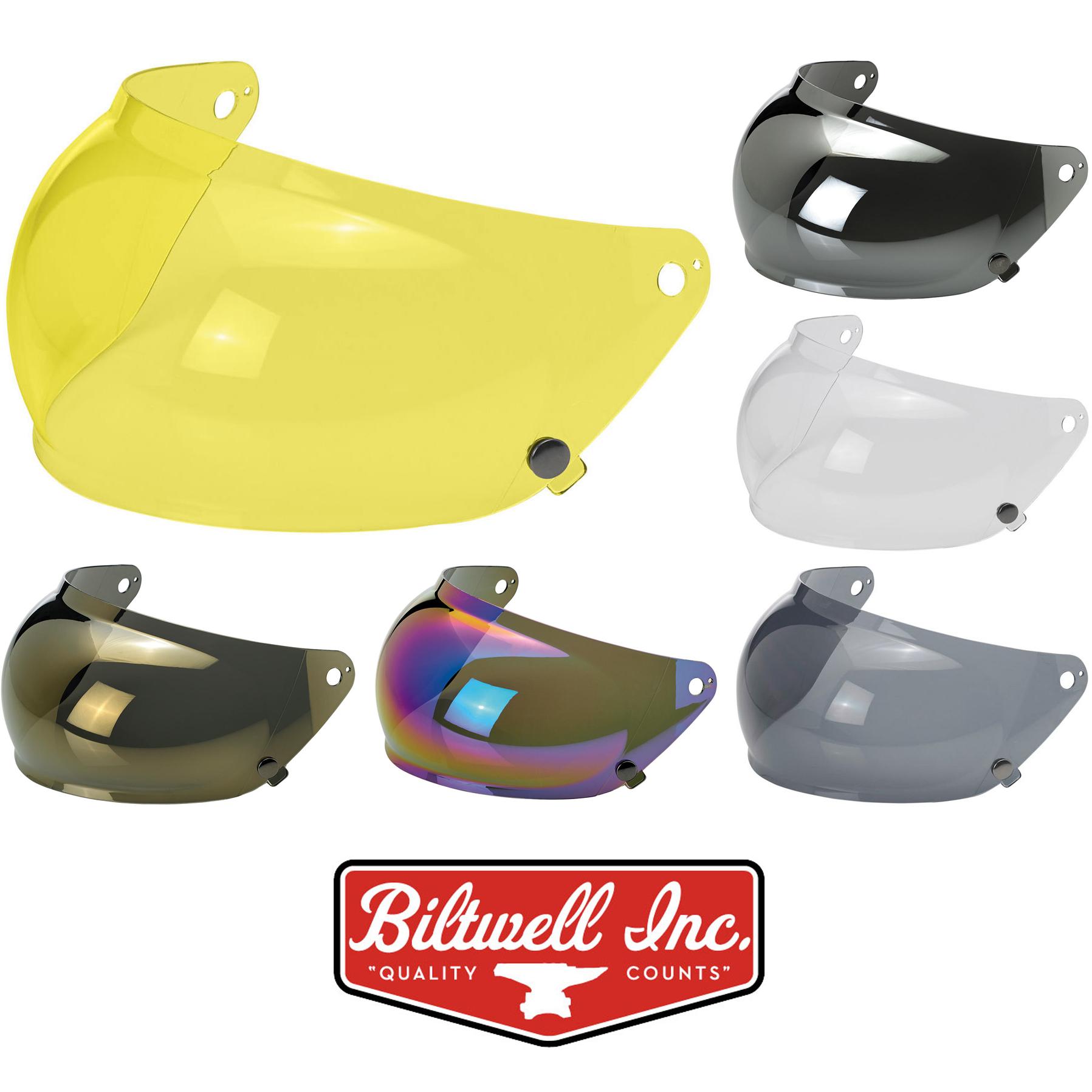 Clear Biltwell Gringo S Bubble Shield Anti Fog