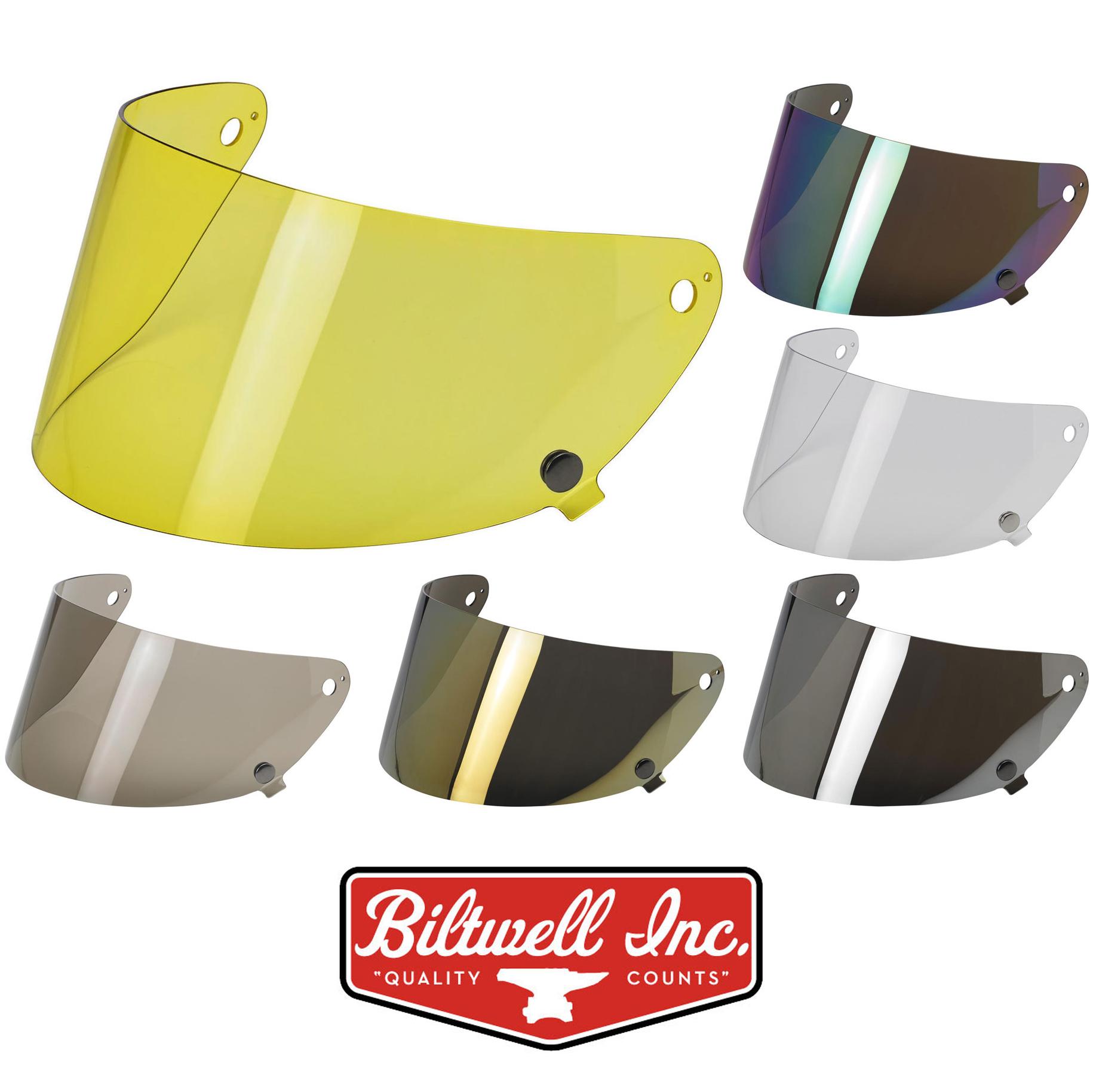 Biltwell Gringo S Helmet Antifog Shield Smoke