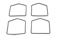 Shaped O-Ring Float Bowl Gaskets - 4 Pack - Honda CB350K CL350 CB500 CB550