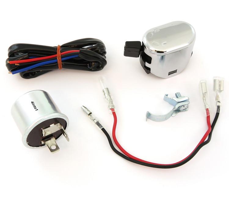 K&S Turn Signal Kit - Relay / Wiring / Switch Vf C Wiring Diagram on
