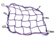 Motorcycle Cargo Net - Purple