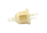 "Visu-Filter Clear High Flow / High Capacity Fuel Filter - 1/4"" - 5/16"""