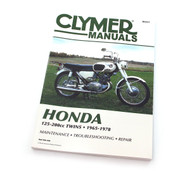 Clymer Manual - Honda 125-200cc Twins - 1965-1978