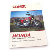 Clymer Manual - Honda 250 & 360cc Twins - 1974-1977