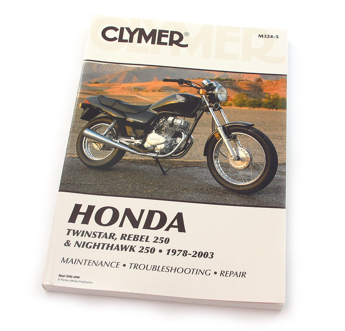 clymer manual honda twinstar rebel 250 nighthawk 250 1978 2003 rh 4into1 com 86 honda rebel 250 service manual 1986 Honda Rebel 250 Specs
