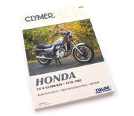 Clymer Manual - Honda CX & GL500/650 - 1978-1983
