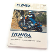 Clymer Manual - Honda CB650 Fours - 1979-1982