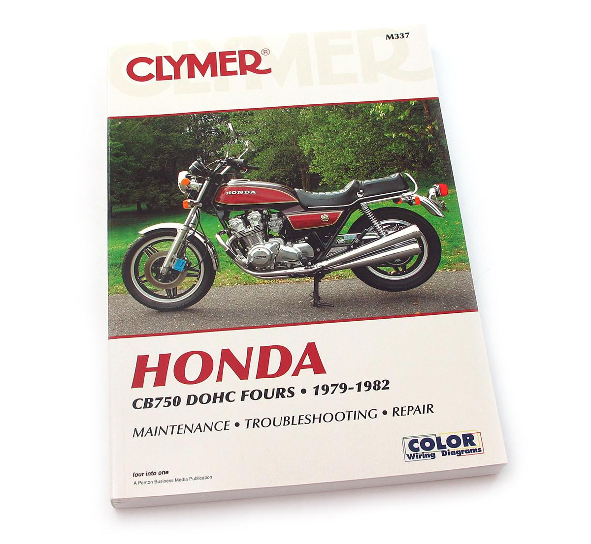 clymer manual honda cb750 dohc fours 1979 1982 rh 4into1 com 1982 Honda CB 900 Custom Honda CB 900 Custom Chopper
