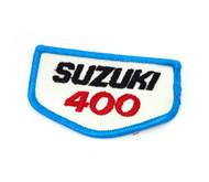 NOS Vintage Suzuki 400 Patch